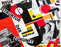 Collage en homenaje a Bauhaus