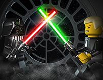 3D - LEGO STARS WARS