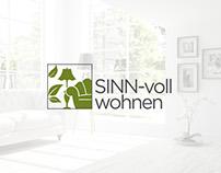 SINN-voll wohnen: Logo, Business Card, Website Designs
