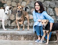 Amala Akkineni for Hyderabad PAWS