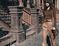 Vogue Paris Manhattan Transfer by Lachlan Bailey