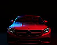Mercedes-Benz S63 - Neon Demon