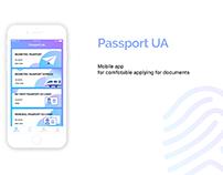 UX/UI Mobile App for applying for documents