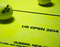 US Open Rebrand