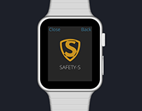 Safety-S (prototype for Apple Watch)