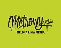 Metrowy Zielona Linia Metra Protokultura poster