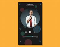 Beautiful music mockup app!