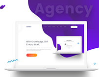 Agency-Landing-page Design