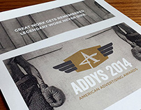 AAF ADDY Awards Invitation and Collateral