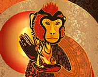 The Red Fire Monkey