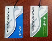 Snake Eyes Golf Apparel Hang Tags (2013)