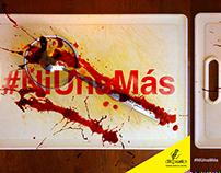 Gráfica - #NiUnaMás