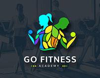 Go Fitness   Logo Branding