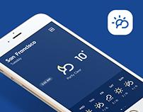 Minimal Weather app