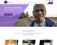 Center For Successful Re-Entry Website Design