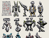 Mecha/Robot Design