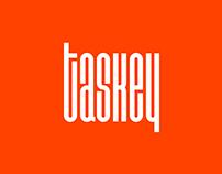 Logo for taskey