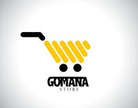 logo gomana store