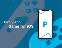 UX/UI Design for iOS game Pixely Art App
