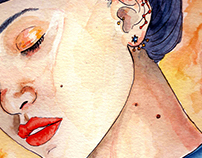 Watercolor Portraits Collection