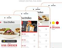 Viva Chicken NCR APP Build Process and Design