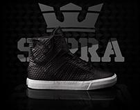 Black on Black Supra Muska 001