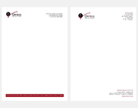 Ornico MediaGroup Letterhead Redesign