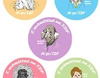 Pin illustrations for Google