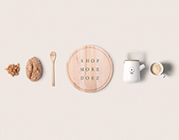 Doez Coffee Roaster-Branding and UI/UX Deisgn