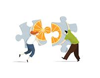 Ilustración para artículo sobre Terapia de pareja