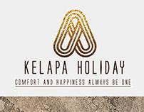 Kelapa Holiday Logo & Marketing Kit Design