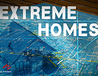 "Destination America's ""Extreme Homes"" Poster"