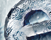 Ice Winter Photoshop Layer Styles - Frozen Text Effect