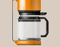 Random coffee machine sketches