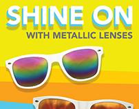 Metallic Sunglasses Email Design
