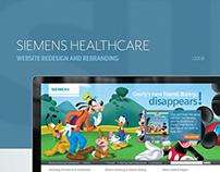 Siemens Healthcare Website Redesign & Rebranding