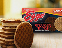 Eggo & Stranger Things Partnership