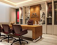 Office Interior Design & Visualization