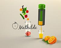 MATHILDE- Fruit & Vegetable Juice Press