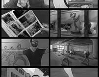Aleve Storyboards