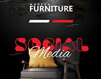 modern furniture social media