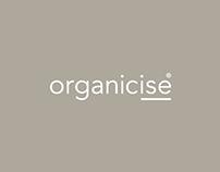 Organicise: Branding & Squarespace