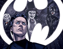Batman Returns | Editorial Illustration