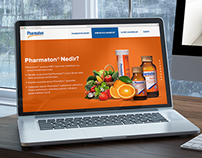 Pharmaton Web Site