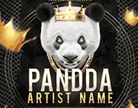 Hip Hop Mixtape CD Cover PSD Template