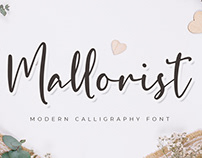 FREE | Mallorist Modern Calligraphy Font