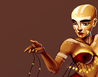 Belly Dancer - Character Design