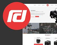 Red Digital Cinema Redesign - Website and Shop