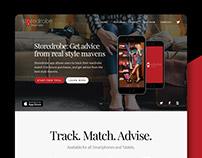Storedrobe | App Website