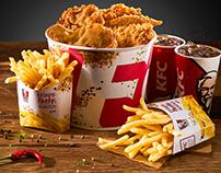 KFC Romania 2017 Menu